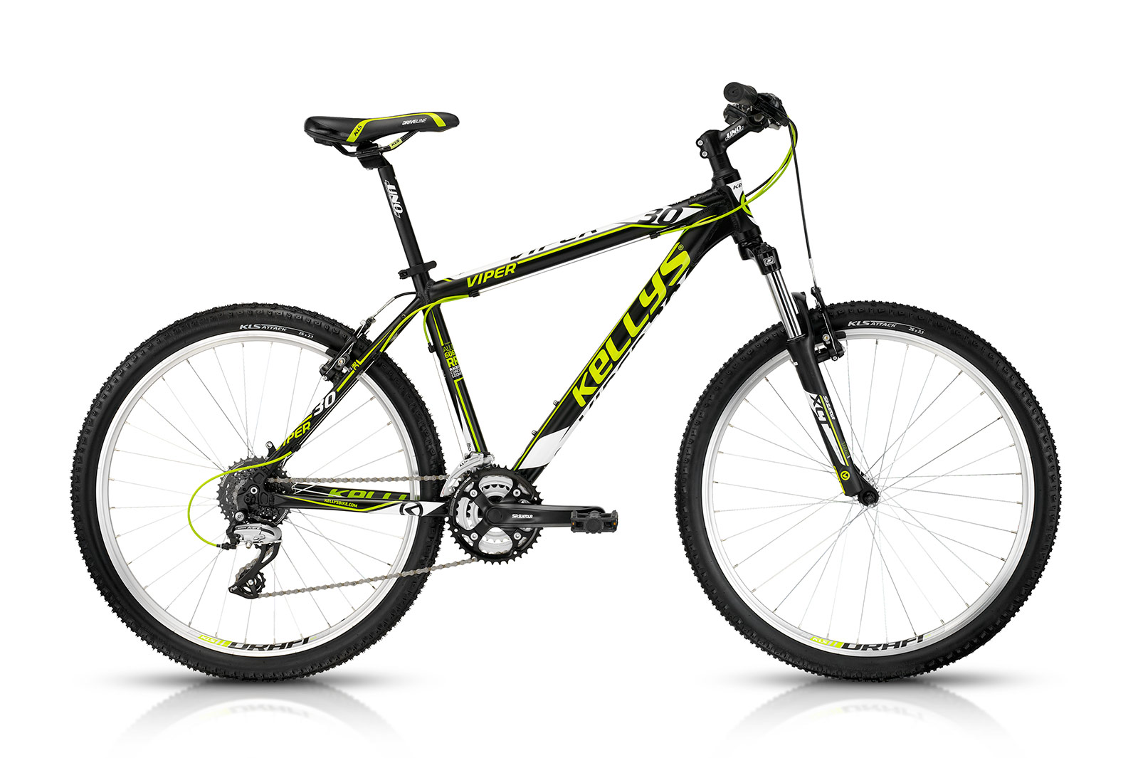 KELLYS Viper 30 Black Lime 17.5´´ - KELLYS Viper 30 Black Lime 17.5´´