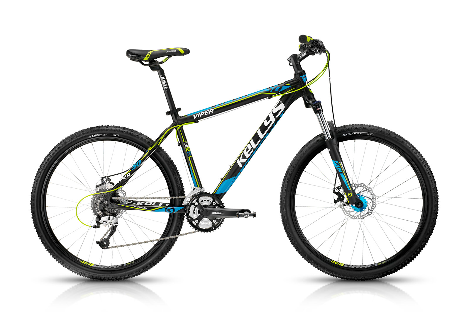 KELLYS Viper 50 Black Blue 17.5´´ - KELLYS Viper 50 Black Blue 17.5´´
