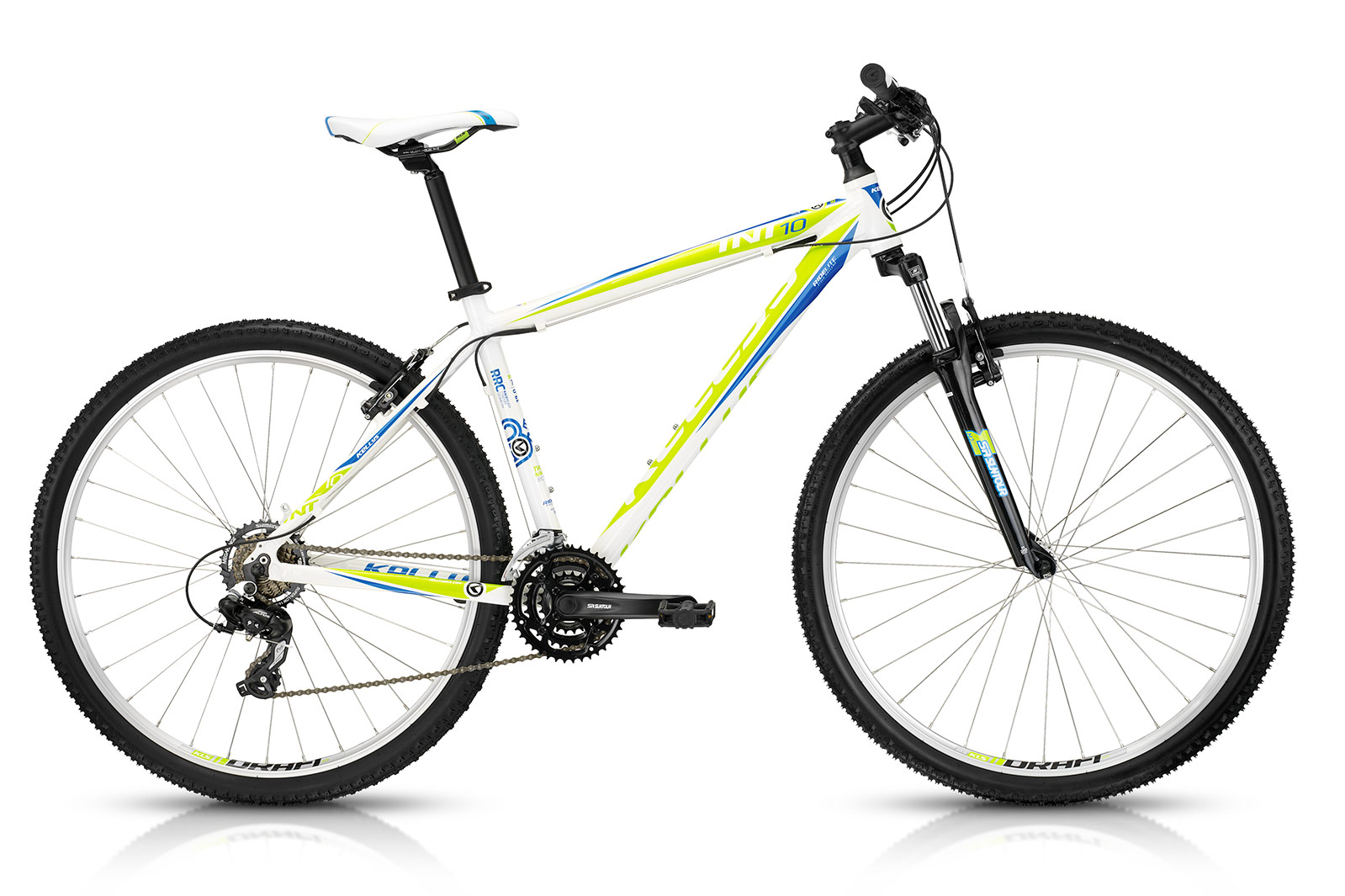 KELLYS TNT 10 White 21´´, 2015 - Sport Cycling Meindl - professional cycling