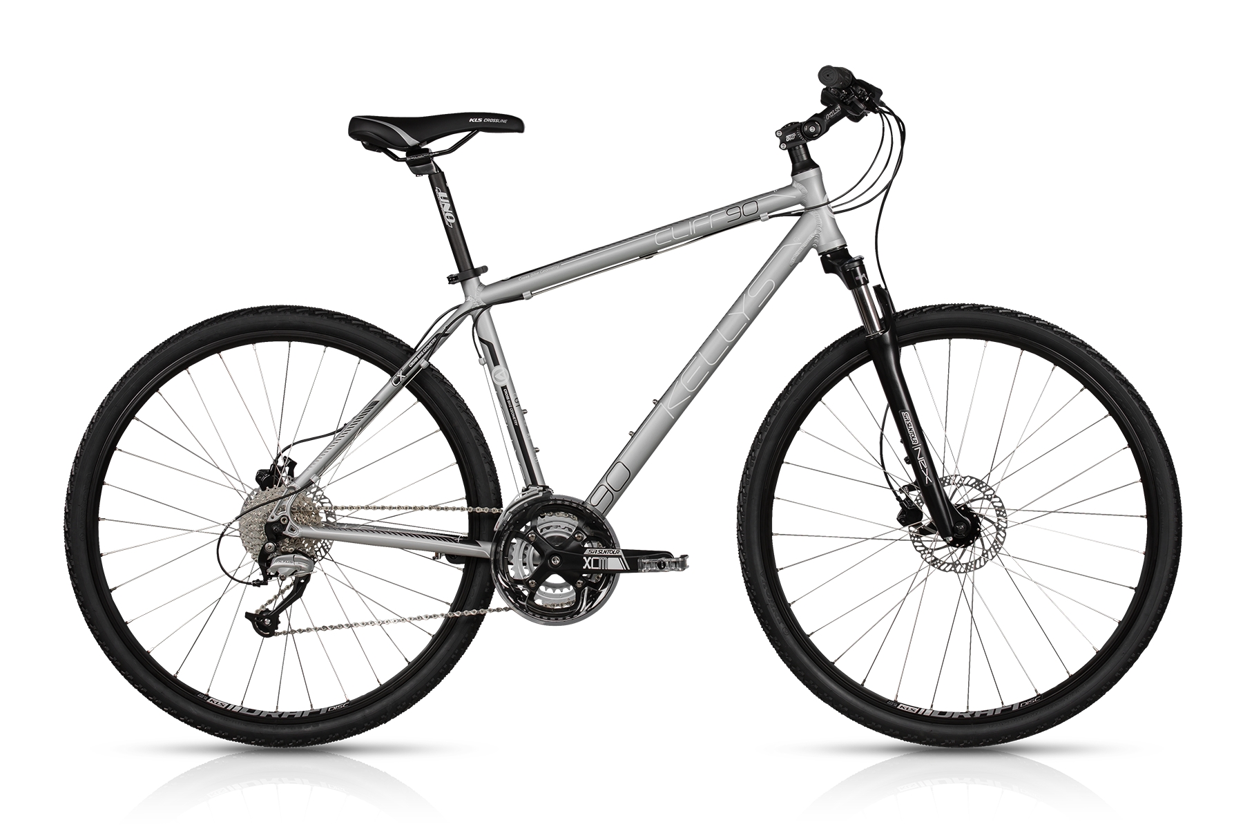 K17130 KELLYS Cliff 90 Silver 21´´ - Sport Cycling Meindl - professional cycling