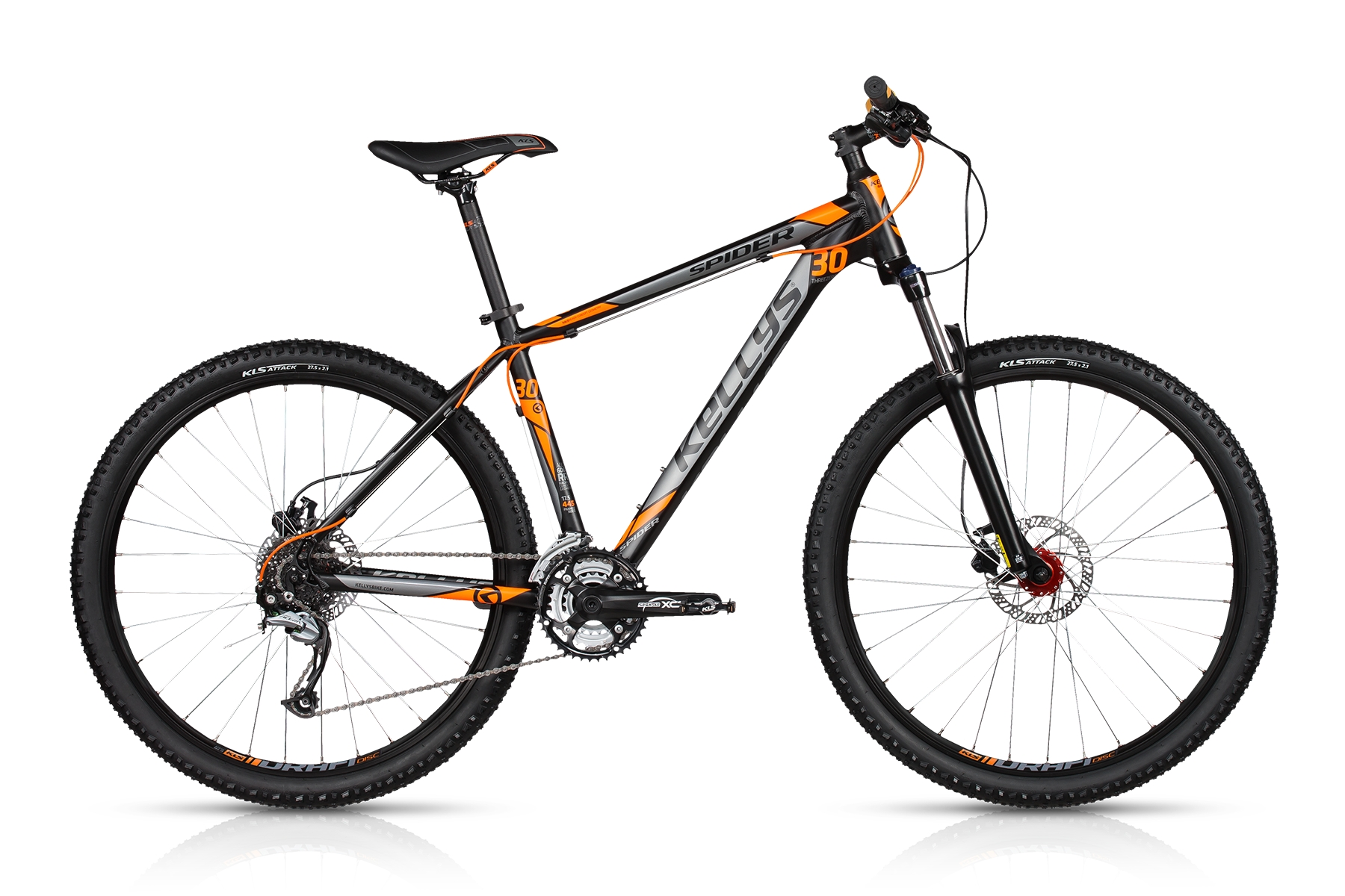 K17035 KELLYS Spider 30 Dark Orange 21.5´´ - Fahrrad Hammer