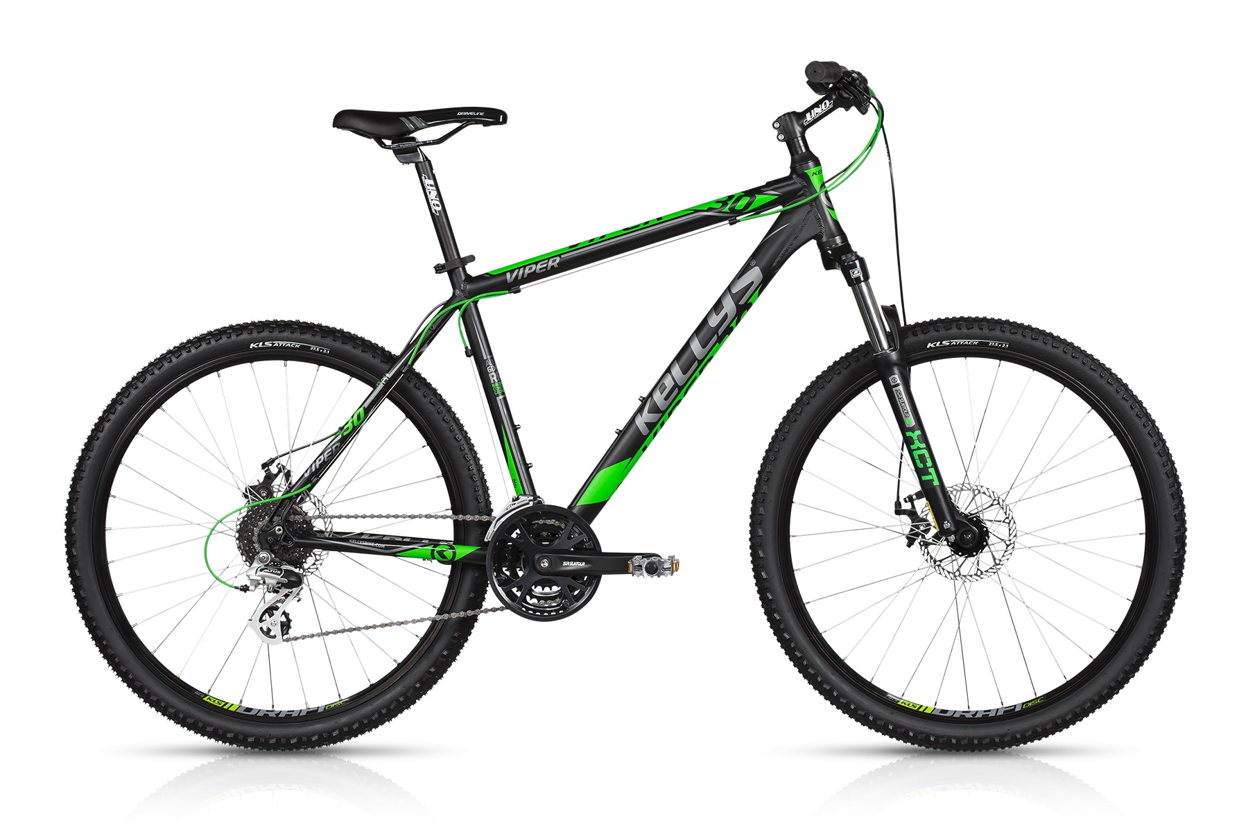 K17042 KELLYS Viper 30 Black Green 27.5 21.5´´ 2017 - Sport Cycling Meindl - professional cycling