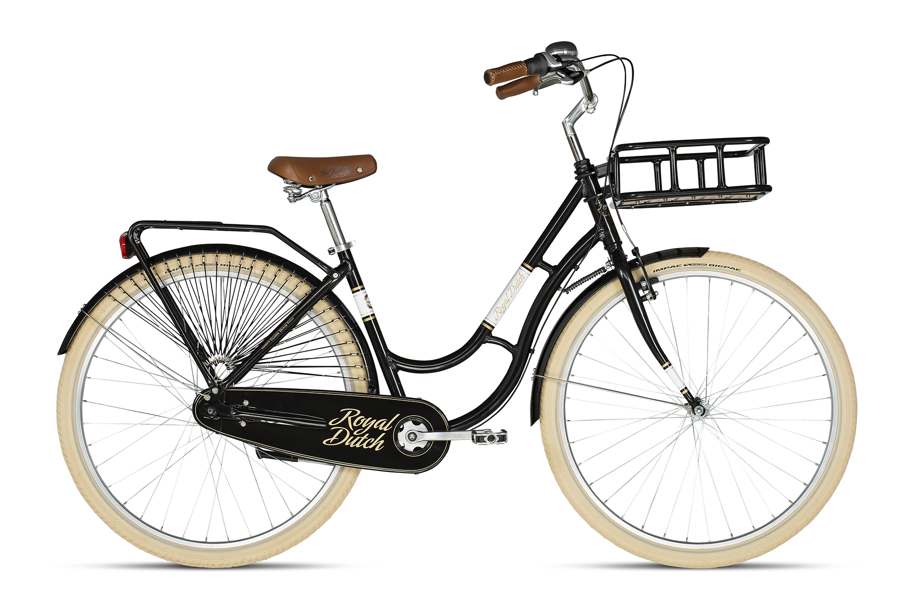 K18202 KELLYS Royal Dutch Black - Fahrradhaus Haske
