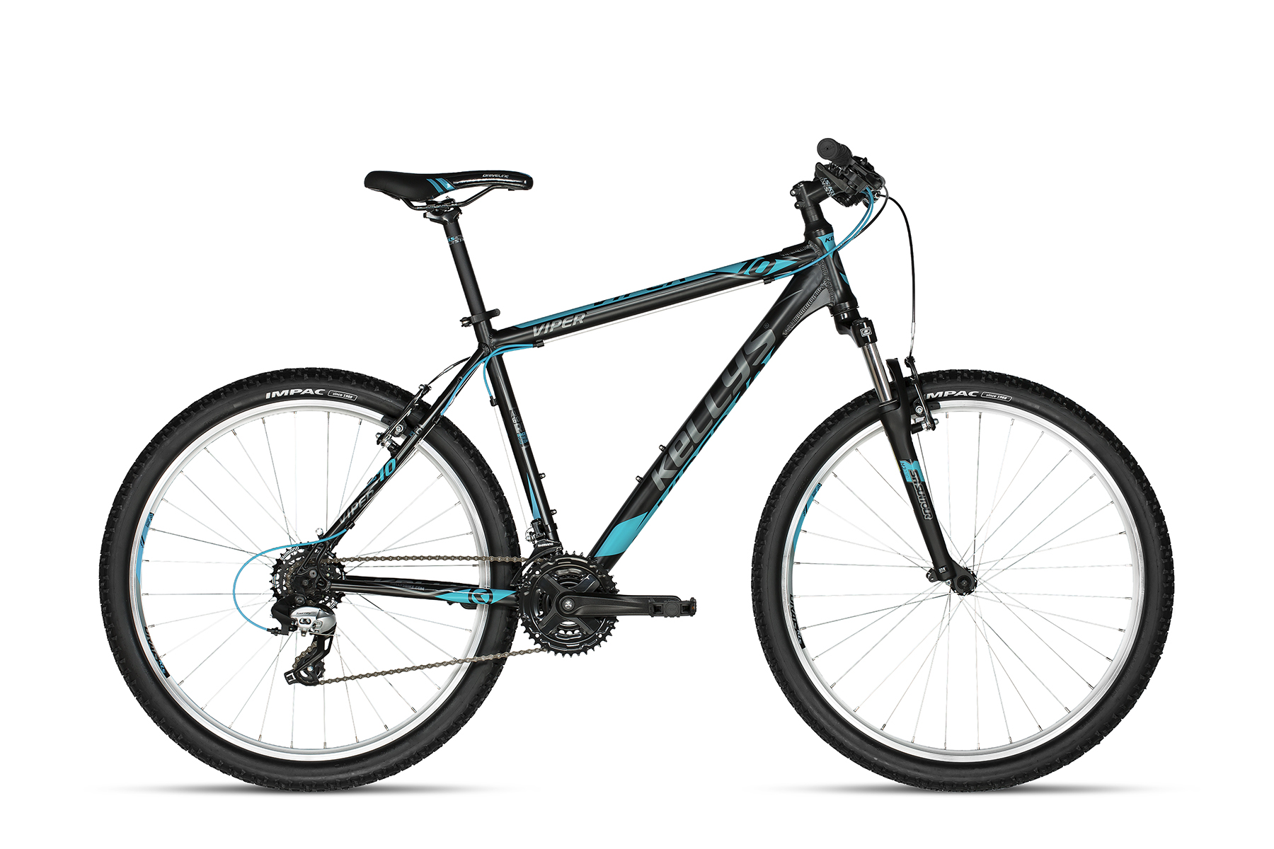 KELLYS Viper 10 Black Blue 27.5 19.5´´ - KELLYS Viper 10 Black Blue 27.5 19.5´´