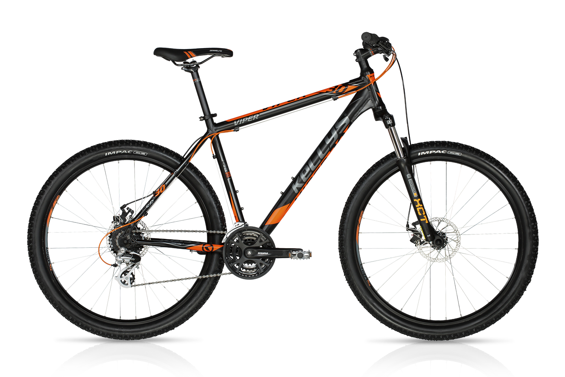 K18050 KELLYS Viper 30 Black Orange 27.5 19.5´´ - Fahrrad Hammer