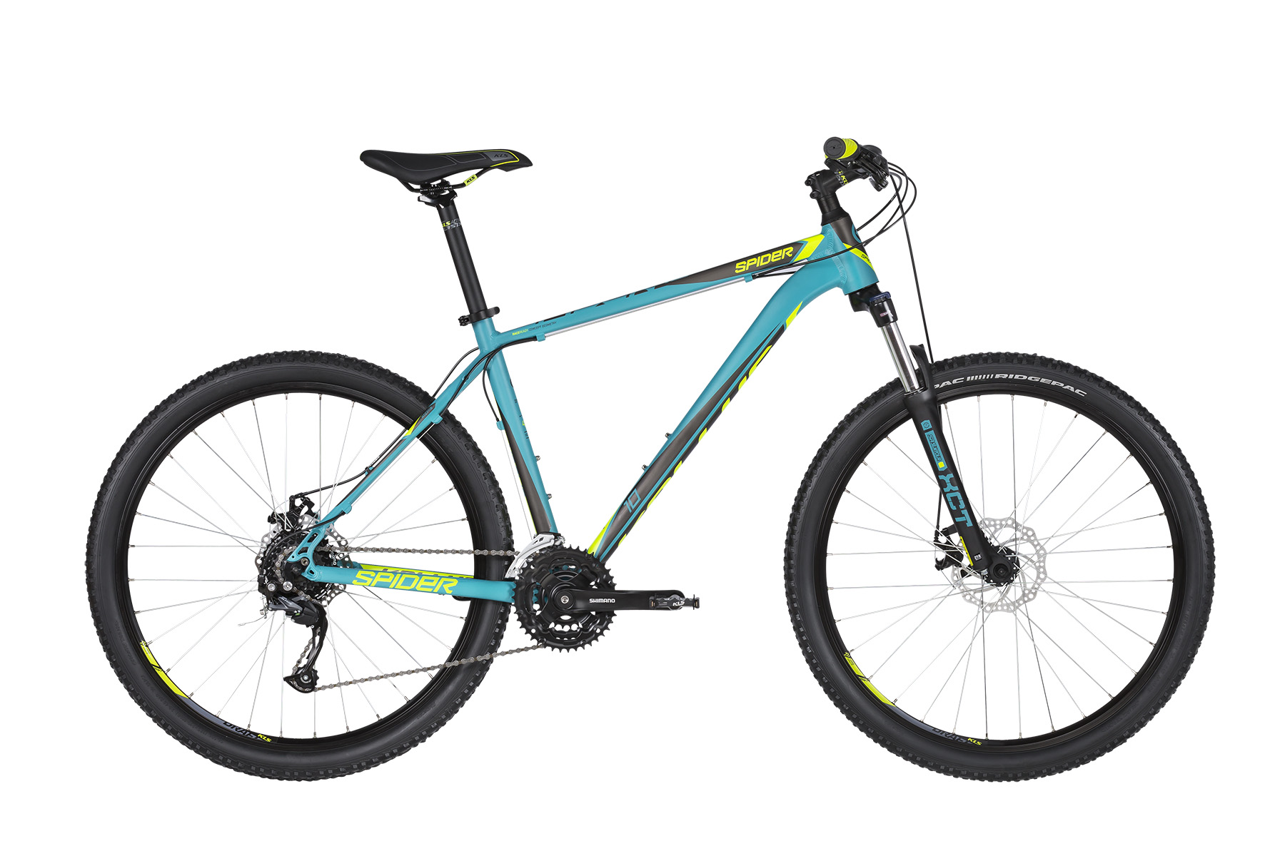 KELLYS Spider 10 Turquoise XS 27.5´´ - KELLYS Spider 10 Turquoise XS 27.5´´