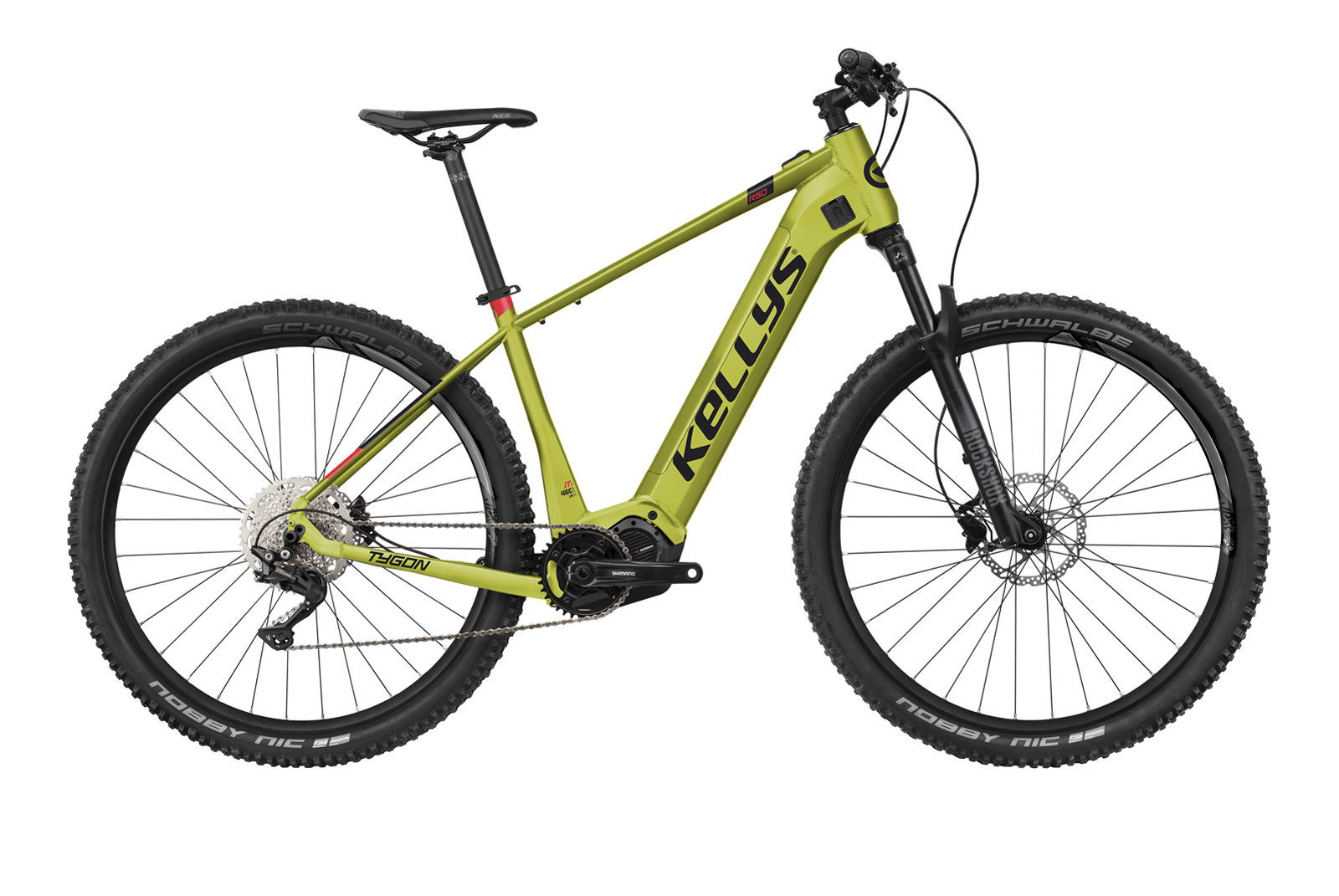 "KELLYS Tygon R50 Lime XL 29"" 720Wh"
