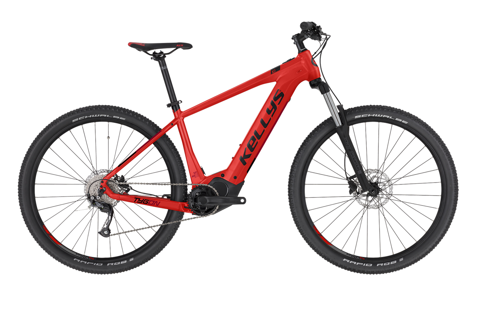 "KELLYS Tygon 10 Red L 29"" 630Wh"