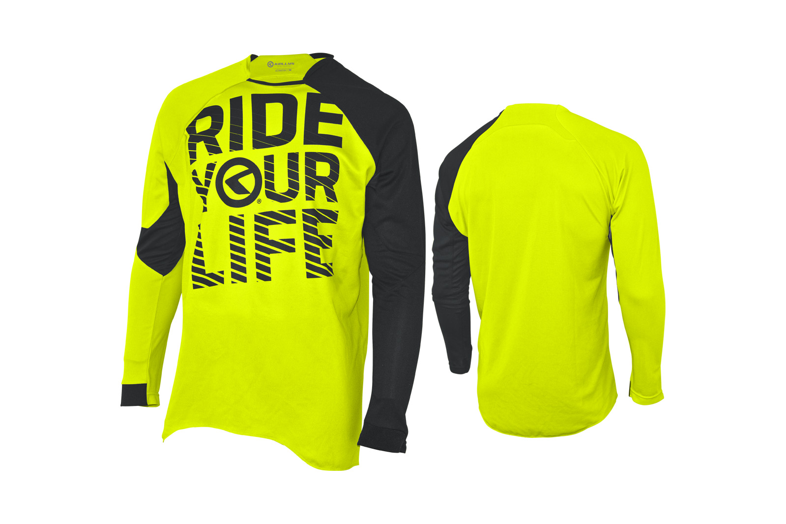 Langarmtrikot KELLYS RIDE YOUR LIFE lime - L - Langarmtrikot KELLYS RIDE YOUR LIFE lime - L