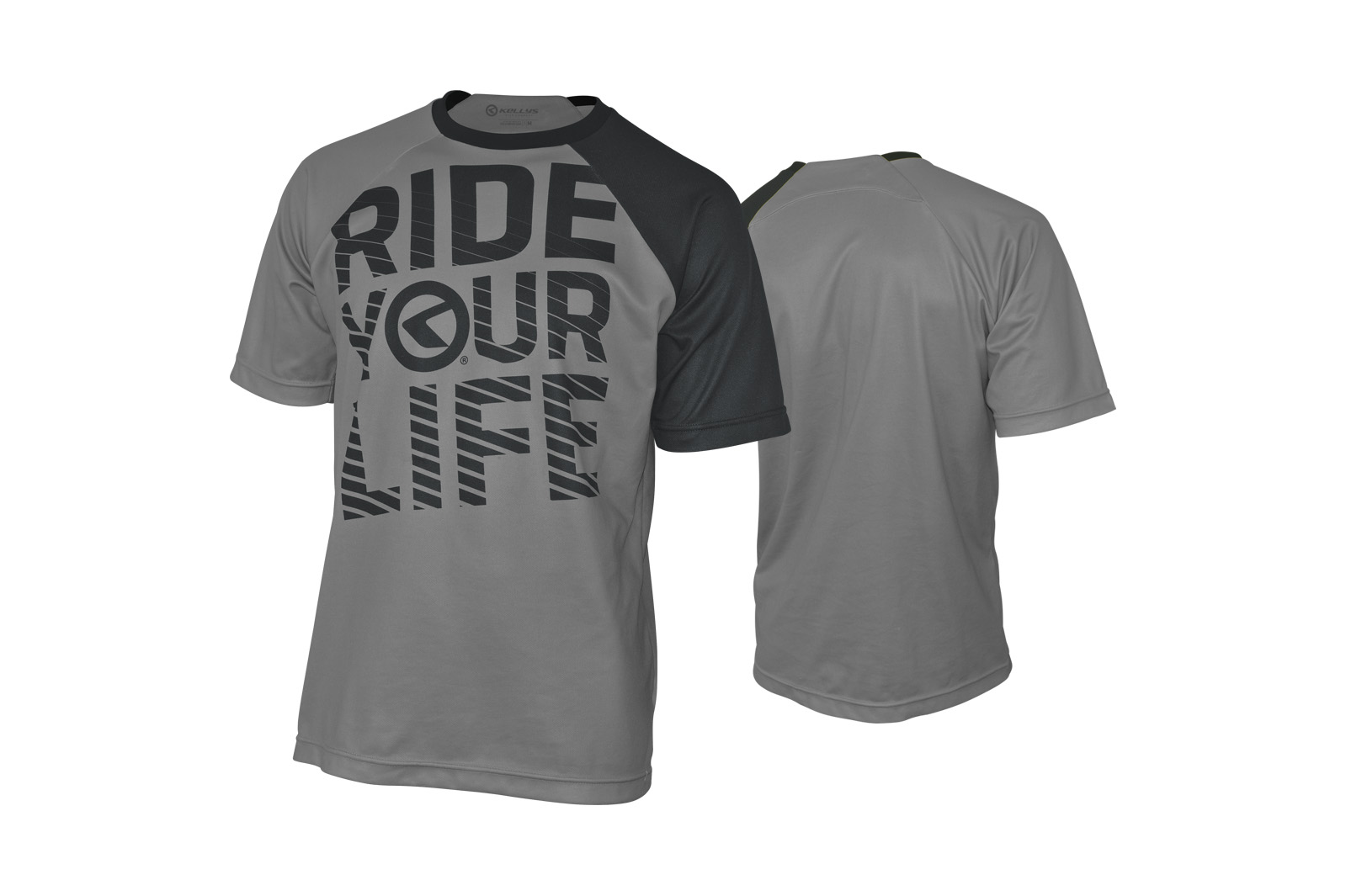 Kurzarmtrikot KELLYS RIDE YOUR LIFE grey - S - Kurzarmtrikot KELLYS RIDE YOUR LIFE grey - S