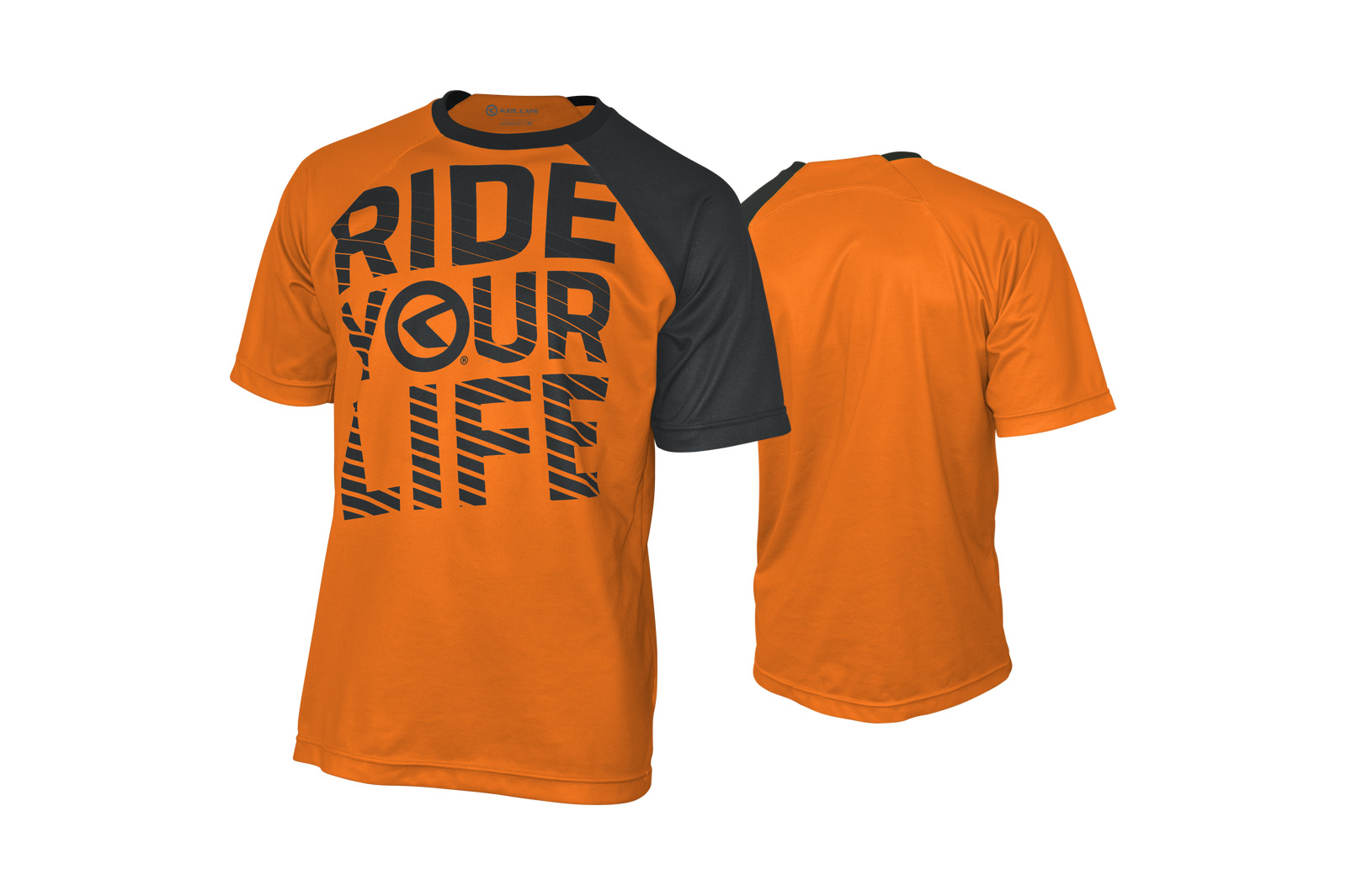 Kurzarmtrikot KELLYS RIDE YOUR LIFE orange - L - Mega Handelsgesellschaft