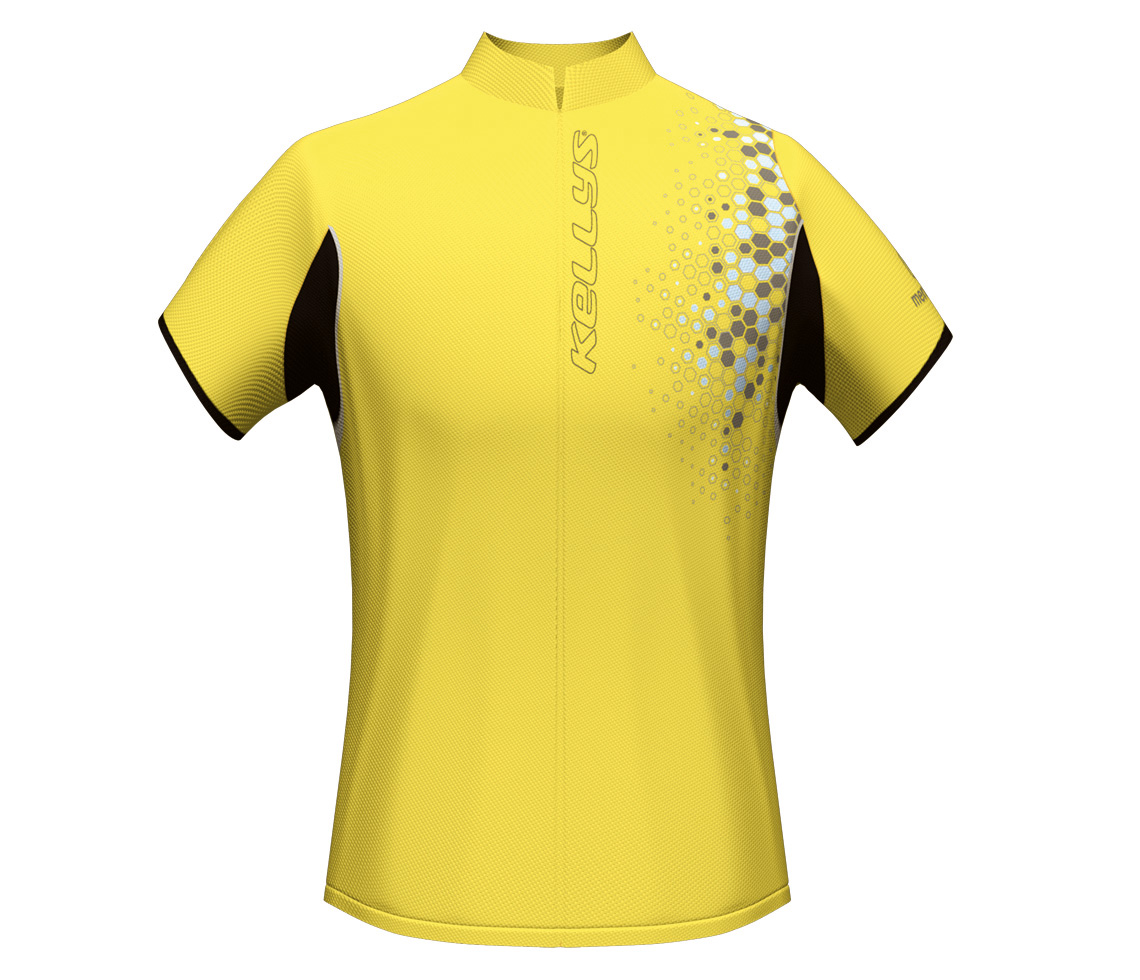 Herrentrikot LUKE yellow S - Herrentrikot LUKE yellow S