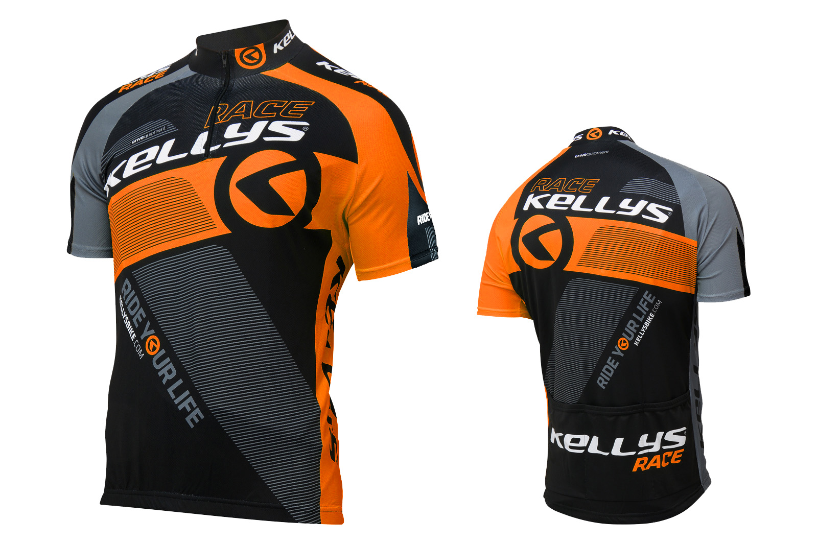 Kurzarmtrikot KELLYS PRO Race orange - XL - Kurzarmtrikot KELLYS PRO Race orange - XL