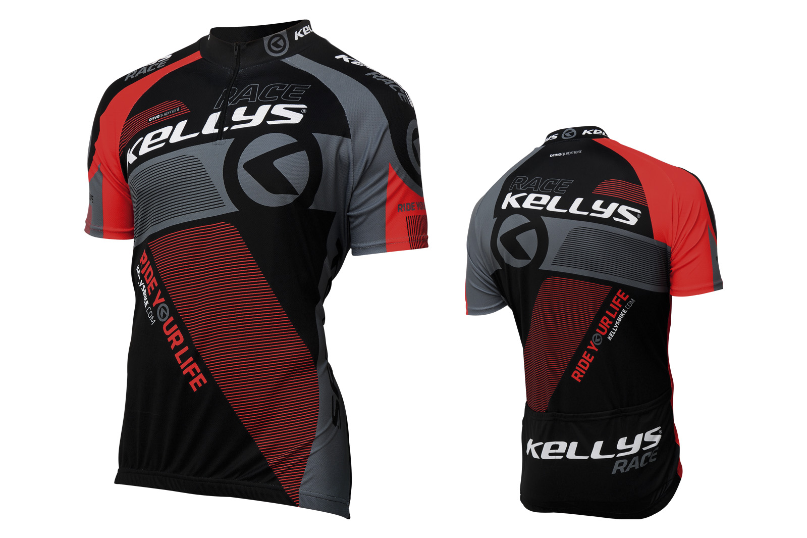 Kurzarmtrikot KELLYS PRO Race red - XS - Sport Cycling Meindl - professional cycling
