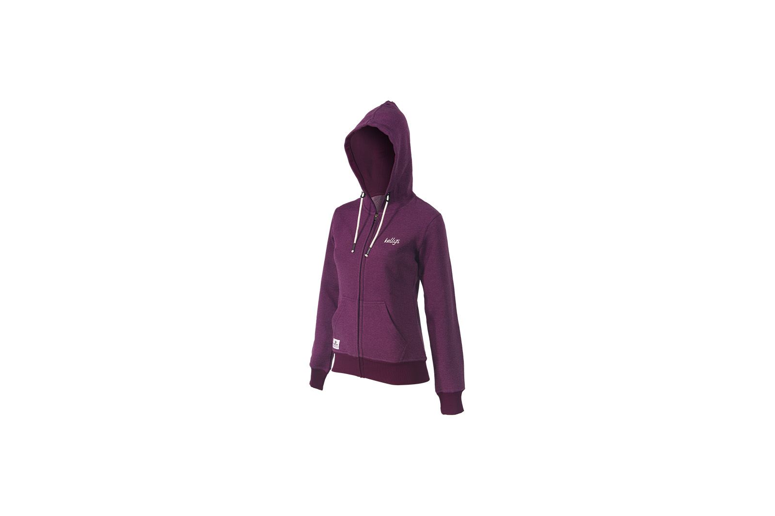 Sweatjacke KELLYS WOMEN´S MELANGE purple - L - Mile-Multisport