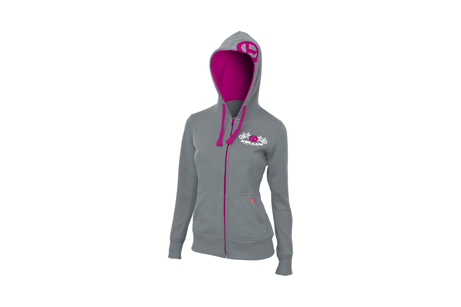 Sweatjacke KELLYS WOMEN´S BASIC Grey - XS - Sweatjacke KELLYS WOMEN´S BASIC Grey - XS