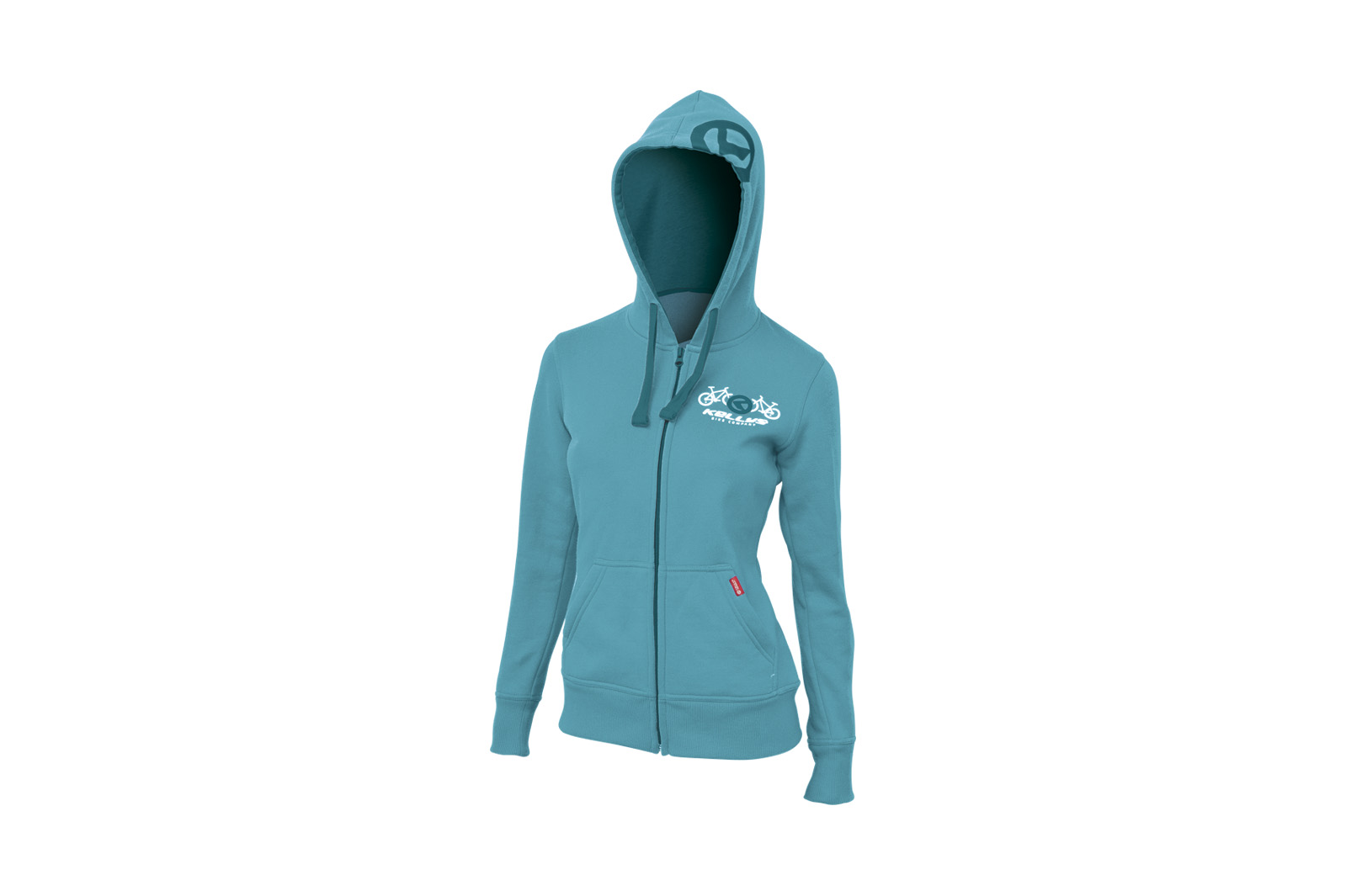 Sweatjacke KELLYS WOMEN´S BASIC Teal - XL - Sweatjacke KELLYS WOMEN´S BASIC Teal - XL