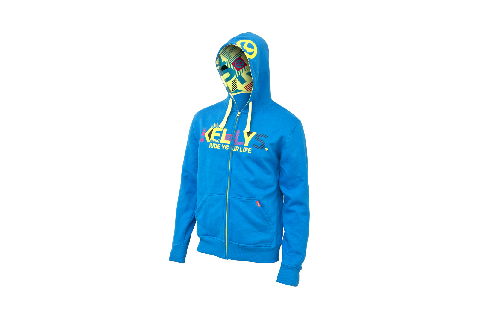 Sweatjacke KELLYS MEN´S TYPO BLUE - XL - Sweatjacke KELLYS MEN´S TYPO BLUE - XL