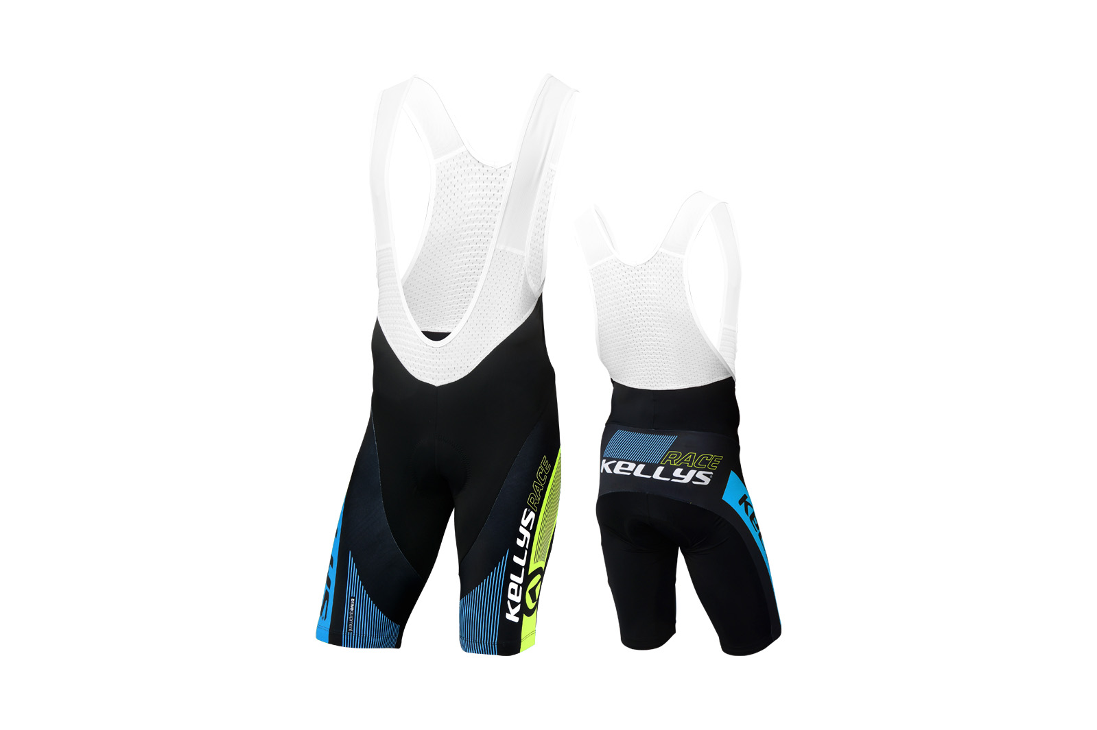Profiträgerhose KELLYS PRO Race mit Sitzpolster blue - S - Sport Cycling Meindl - professional cycling