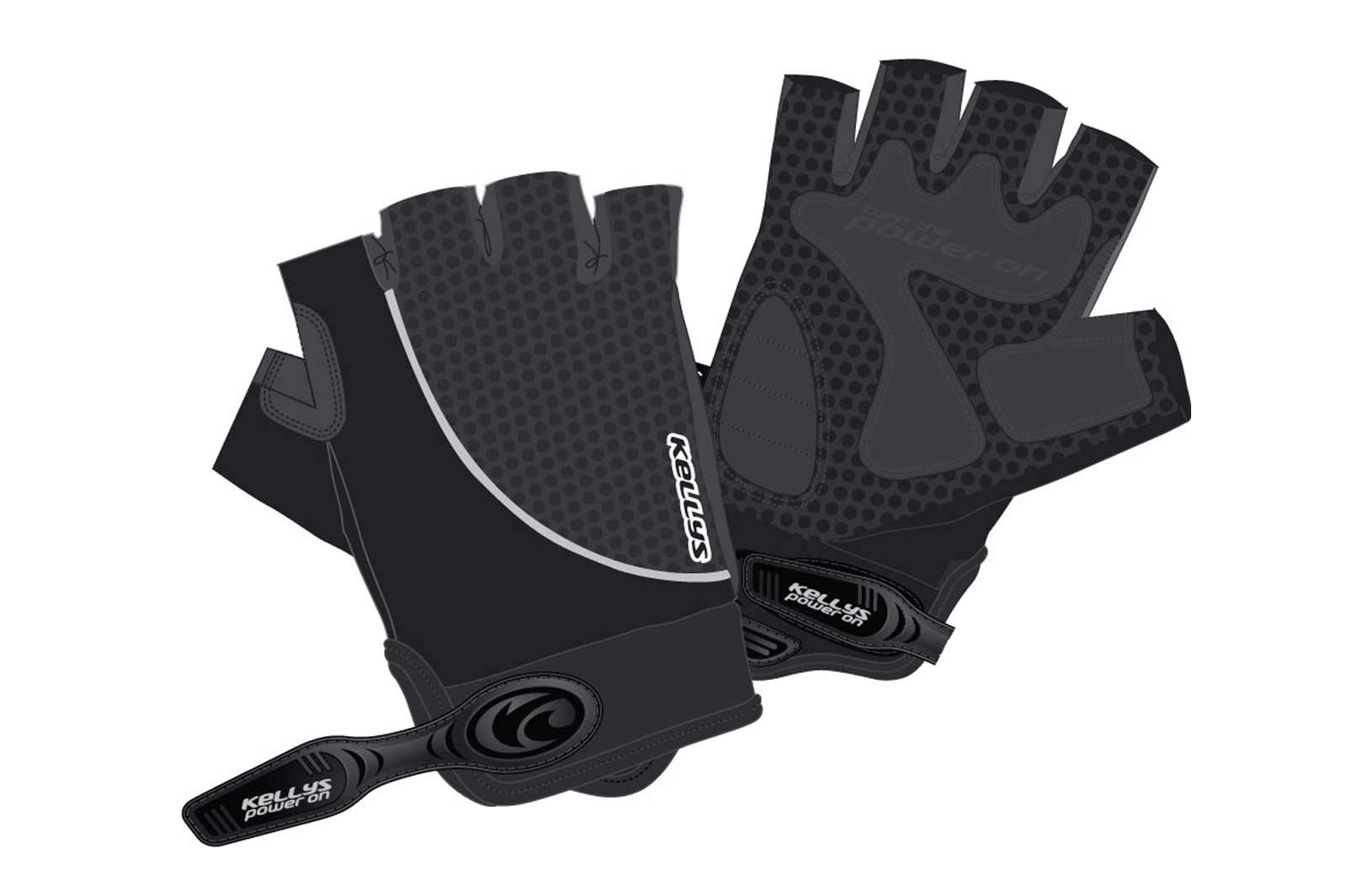 Handschuhe SEASON black L - Mile-Multisport