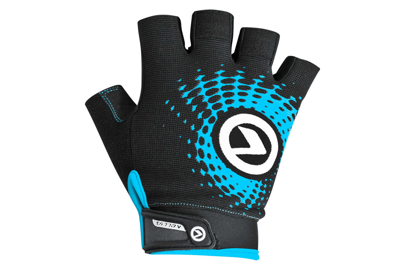 Handschuhe IMPACT short black-blue S - Handschuhe IMPACT short black-blue S
