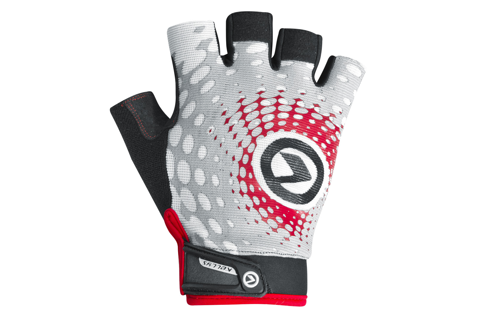 Handschuhe IMPACT short white-grey-red XS - Handschuhe IMPACT short white-grey-red XS