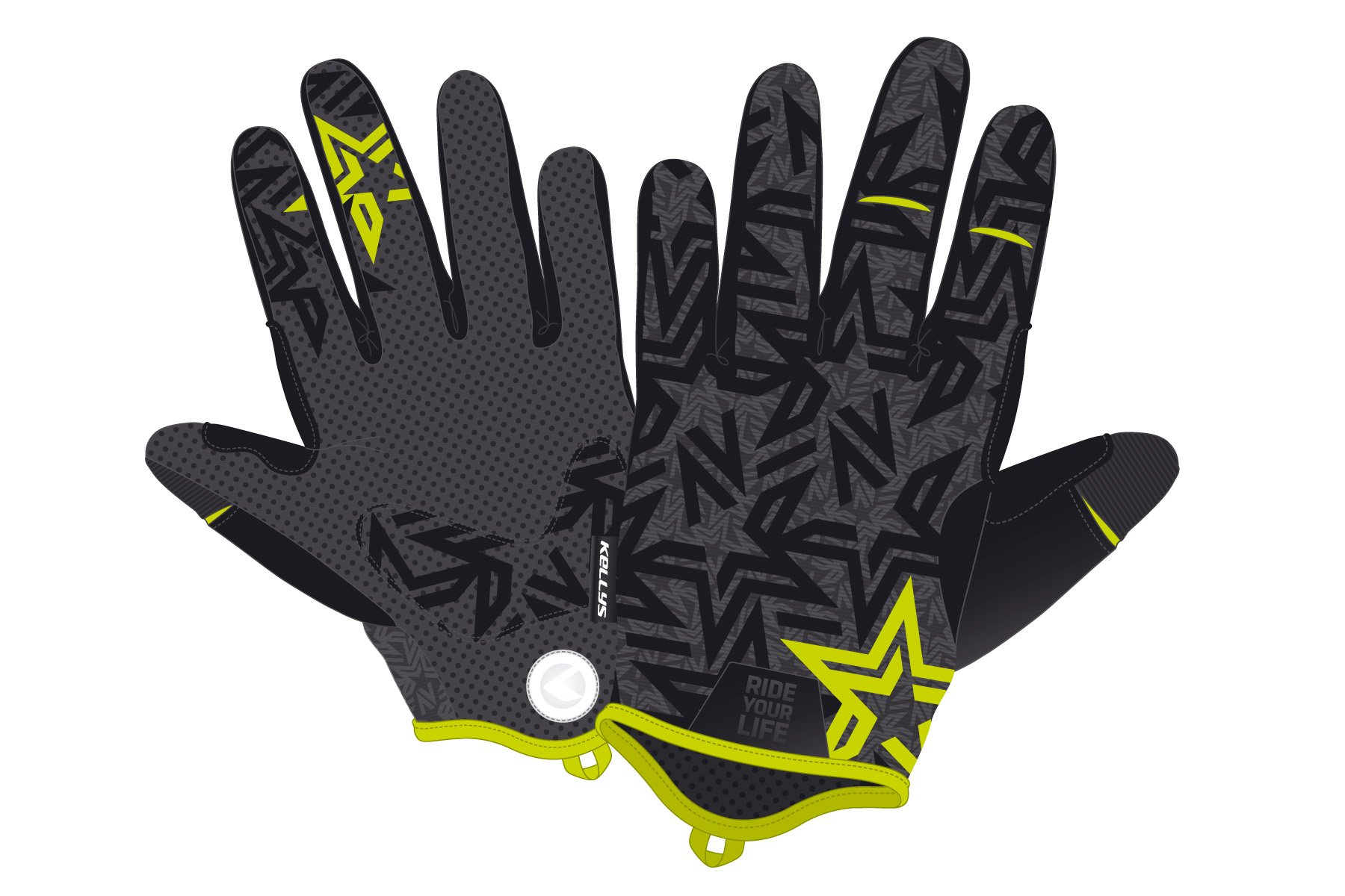 Handschuhe IMPULSE long lime XS - Handschuhe IMPULSE long lime XS