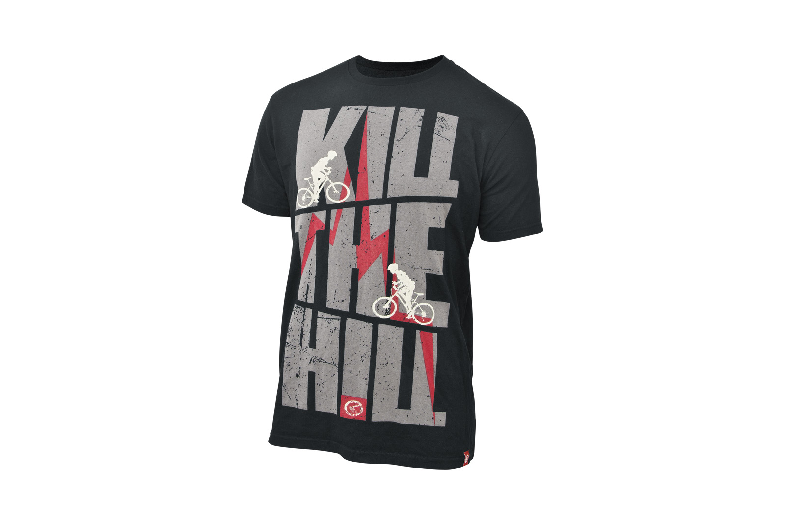 T-Shirt KELLYS KILL THE HILL kurzarm black - M - Fahrradhaus Haske