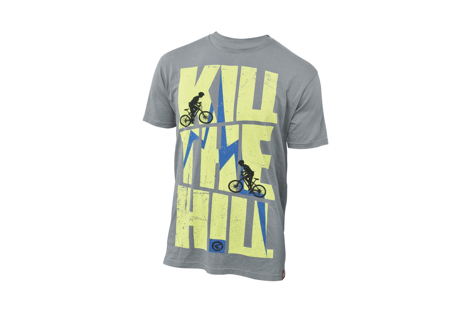 T-Shirt KELLYS KILL THE HILL kurzarm Grey - L - Fahrradhaus Haske