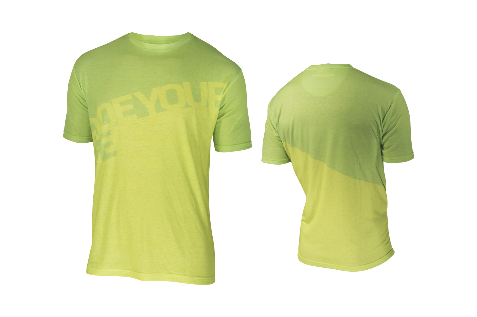 T-Shirt KELLYS RIDE YOUR LIFE kurzarm Lime - L - bagier Sports GmbH