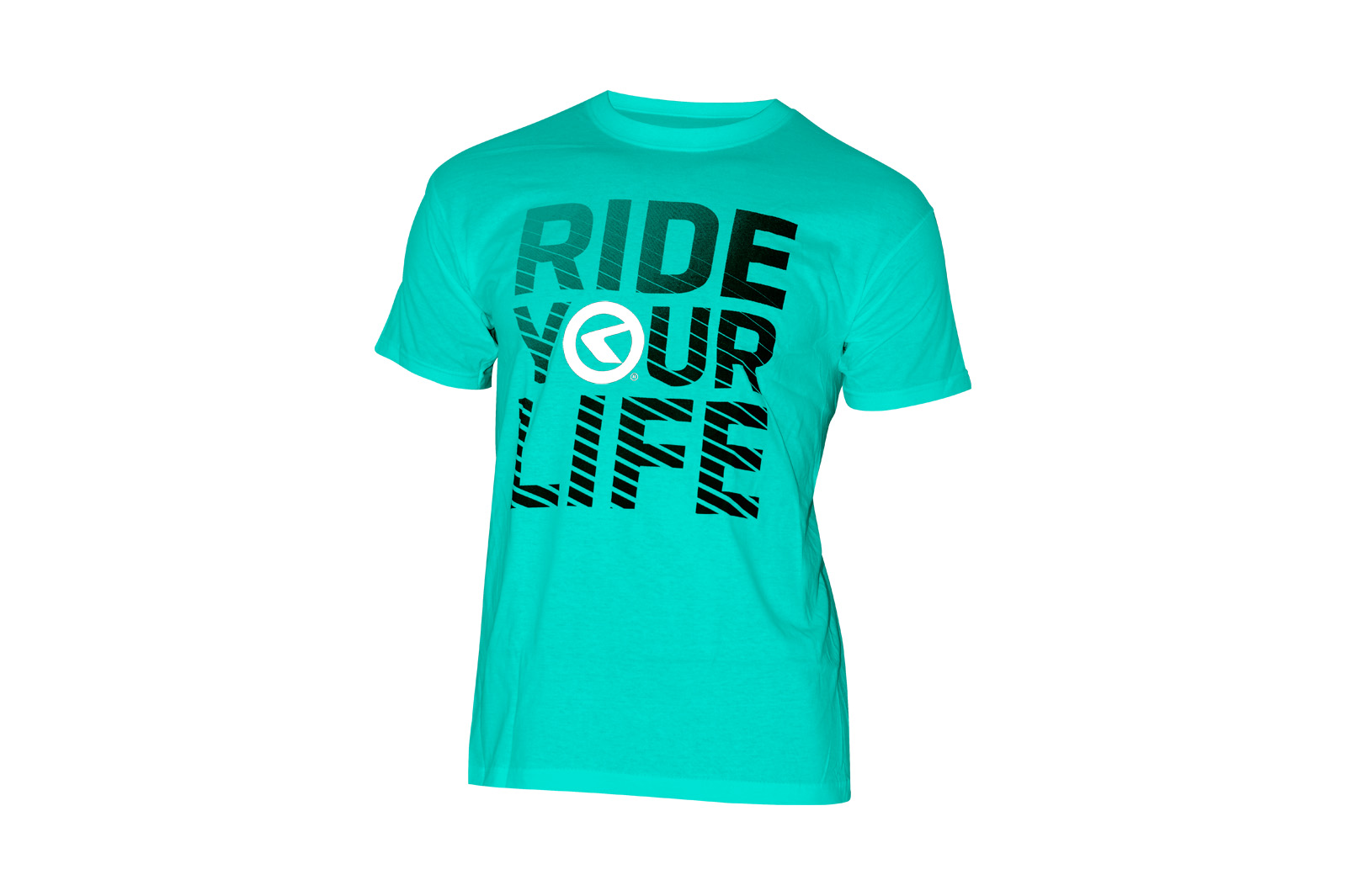 T-Shirt KELLYS RIDE YOU LIFE kurzarm Turquoise - XL - HiroBike Onlineshop