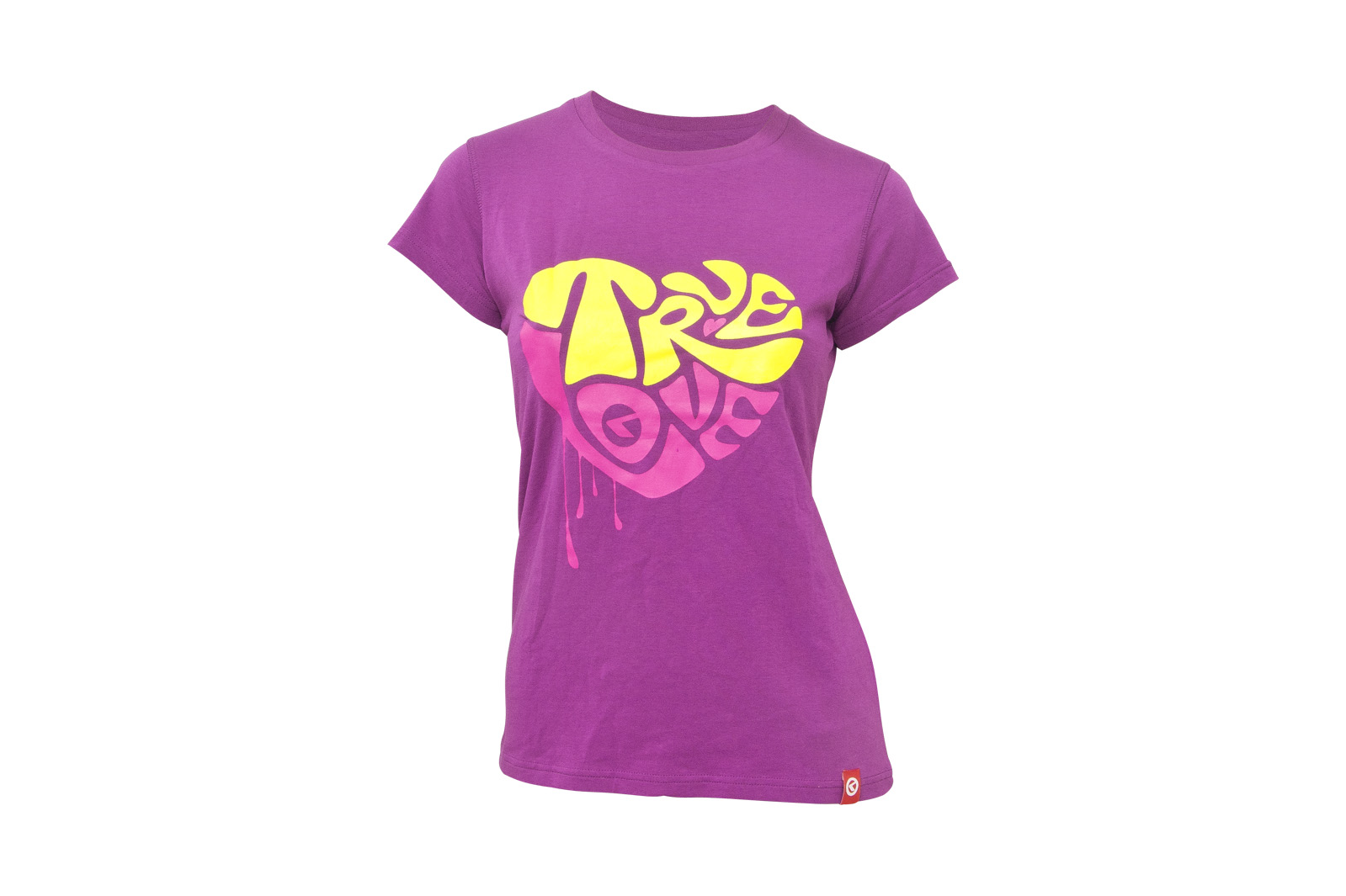 T-Shirt KELLYS WOMEN´S TRUE LOVE kurzarm Purple - L - Mega Handelsgesellschaft