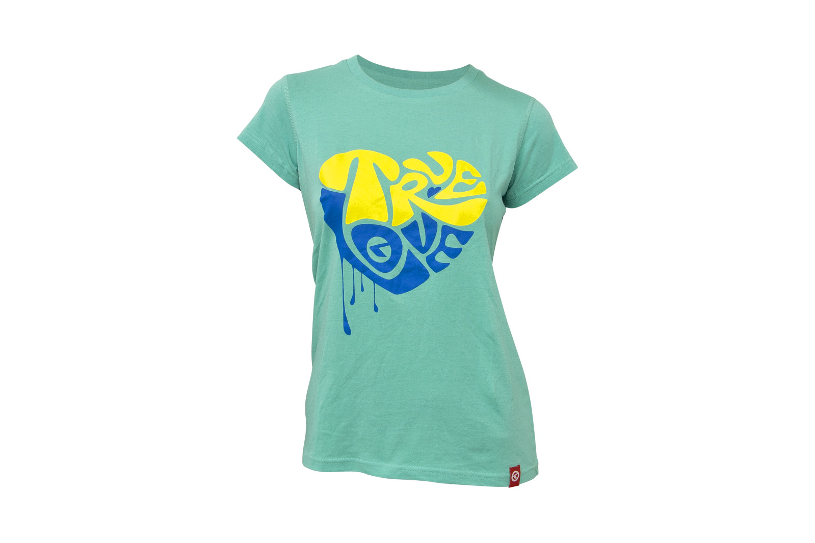T-Shirt KELLYS WOMEN´S TRUE LOVE kurzarm Turquoise - XL - T-Shirt KELLYS WOMEN´S TRUE LOVE kurzarm Turquoise - XL