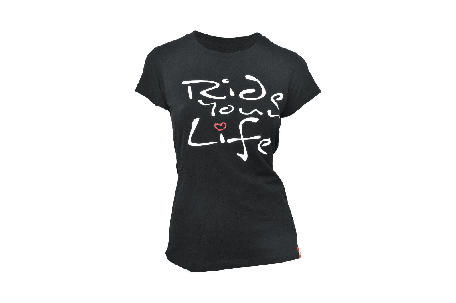 T-Shirt KELLYS WOMEN´S RIDE YOUR LIFE kurzarm Black - XS - Fahrradhaus Haske