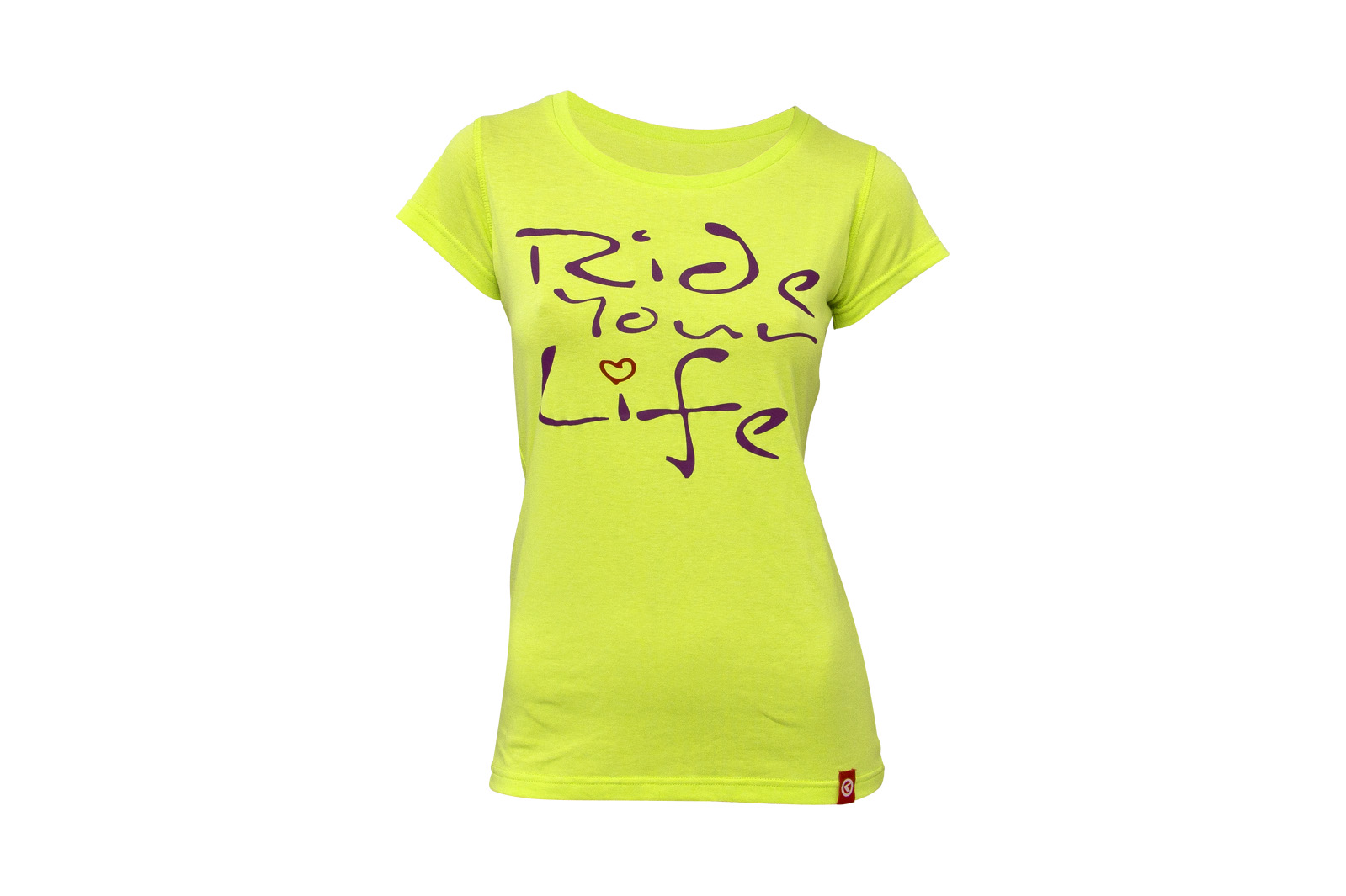 T-Shirt KELLYS WOMEN´S RIDE YOUR LIFE kurzarm Lime - XL - Fahrradhaus Haske