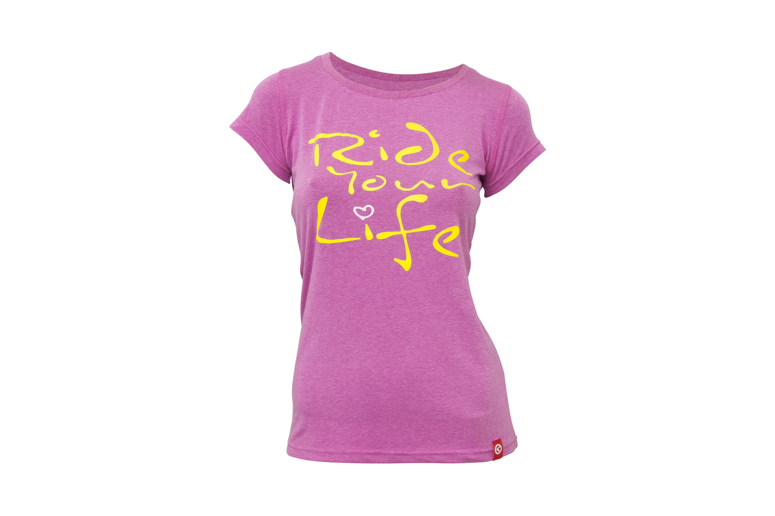 T-Shirt KELLYS WOMEN´S RIDE YOUR LIFE kurzarm Pink - XL - T-Shirt KELLYS WOMEN´S RIDE YOUR LIFE kurzarm Pink - XL