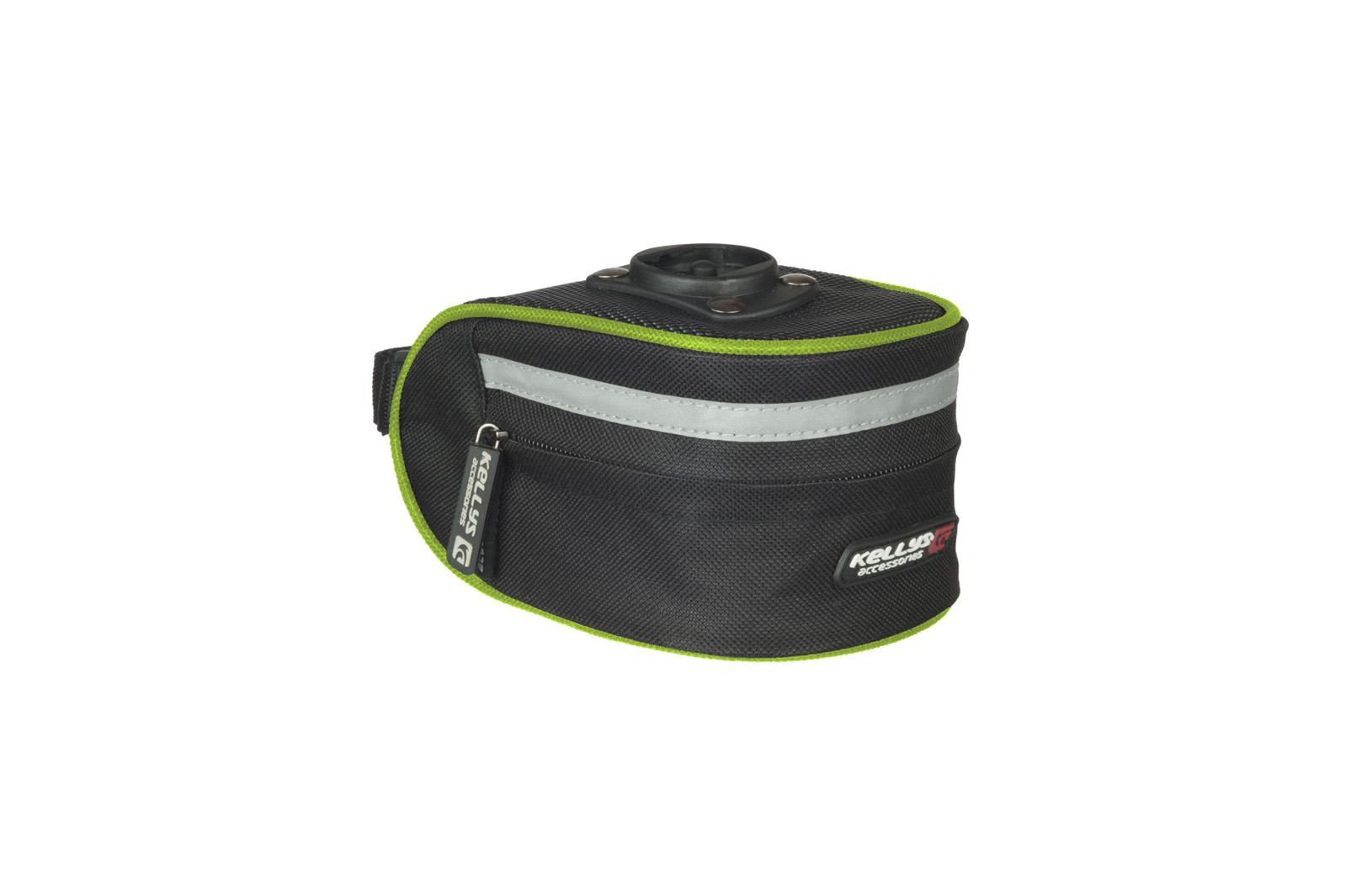 Satteltasche KELLYS HANDY black-lime green M - Satteltasche KELLYS HANDY black-lime green M
