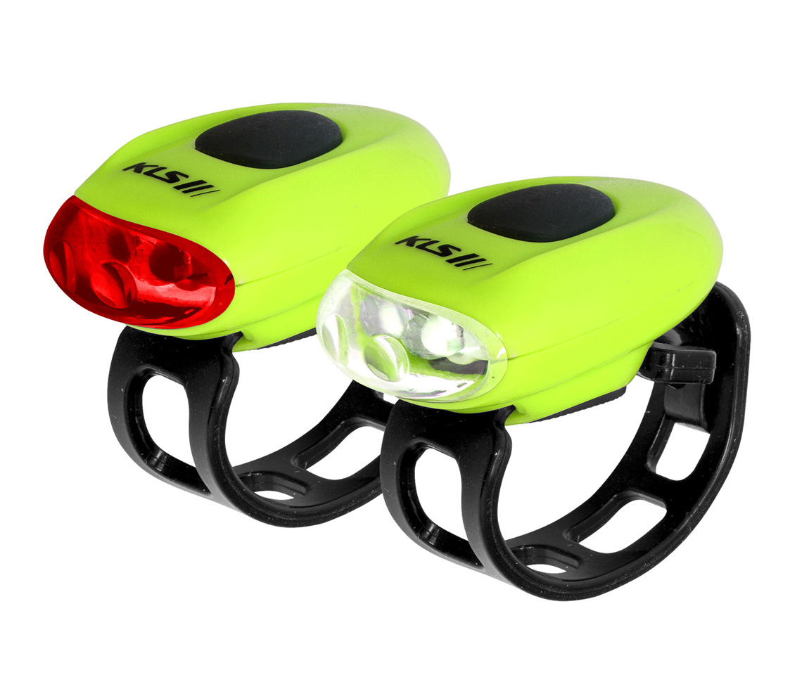 Lampenset KLS EGGY, lime green - Lampenset KLS EGGY, lime green